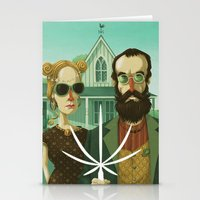 American Gothic High Stationery Cards