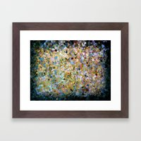 That Moment The Sun Brok… Framed Art Print