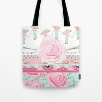A Pocket Full of Shabby Chic Tote Bag