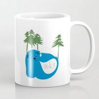 party animals - norwegian bear Mug
