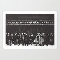 City Lights Dancing Art Print