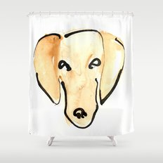 Daschshund Shower Curtain