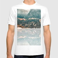 Yosemite Valley - Fall C… Mens Fitted Tee White SMALL