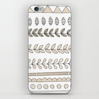 Pastel Patterns - Natural iPhone & iPod Skin