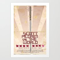 Scott Pilgrim Vs. The World Art Print