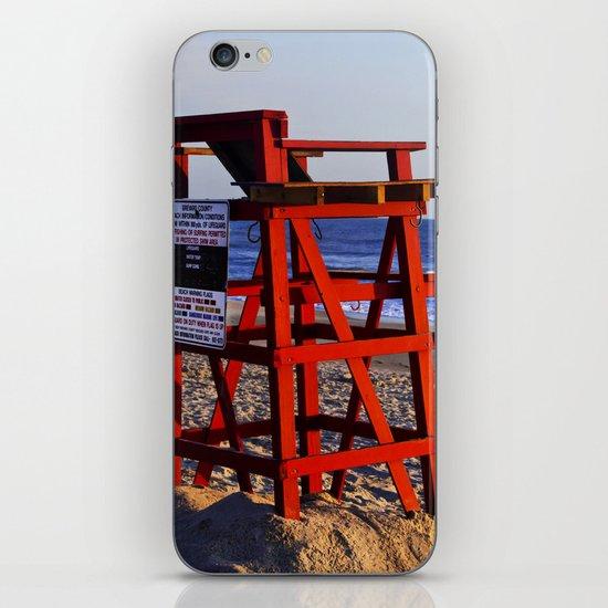 Beach Rules iPhone & iPod Skin