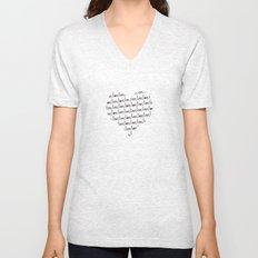 Simple Love Unisex V-Neck