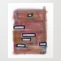 Portfolio Art Print