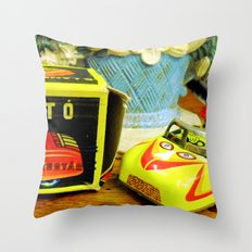 Trip down memory lane... Throw Pillow
