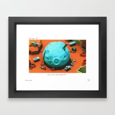 POP HELL #3 Framed Art Print