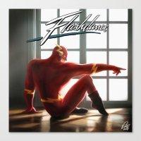 The Flash Dance Canvas Print