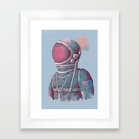 Terran Framed Art Print