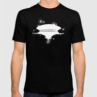Steven Spielberg's CE3K Mens Fitted Tee Black SMALL