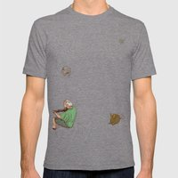 The Marvellous Musician Mens Fitted Tee Tri-Grey SMALL