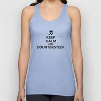 Keep Calm And Counterste… Unisex Tank Top