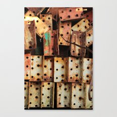 Urban Metal Canvas Print