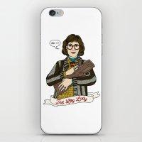 Twin Peaks (David Lynch) The Log Lady iPhone & iPod Skin