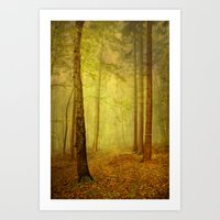fairytale path Art Print