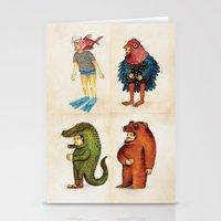 Costumes - Animalados Stationery Cards