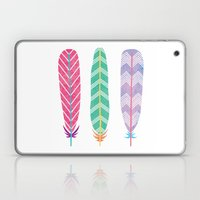 Feather Collage Laptop & iPad Skin