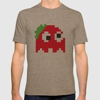 Zombie Ghost Mens Fitted Tee Tri-Coffee SMALL
