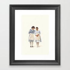The Help Framed Art Print