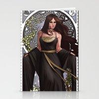 Zodiac Art Show - Capricorn Stationery Cards