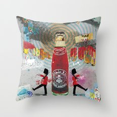Spiro Spathis Throw Pillow