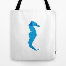 Origami Seahorse Tote Bag