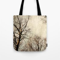 paint the sky with branches Tote Bag