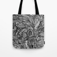 The Waves Of The Unseen Tote Bag