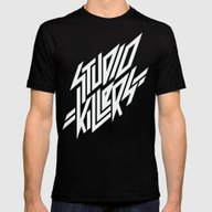 Studio Killers Mens Fitted Tee Black SMALL
