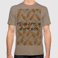 Pineapple Express Mens Fitted Tee Tri-Coffee SMALL