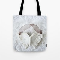 White Butterfly - Dream Tote Bag