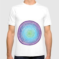 Degrees Mens Fitted Tee White SMALL