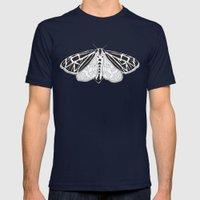 Virgin Tiger Moth Mens Fitted Tee Navy SMALL