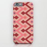 Kilim In Pink iPhone 6 Slim Case
