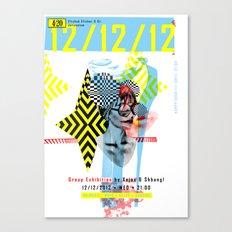 121212 ANALOG zine Canvas Print