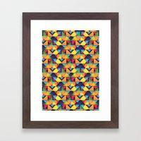 Double Trouble Framed Art Print