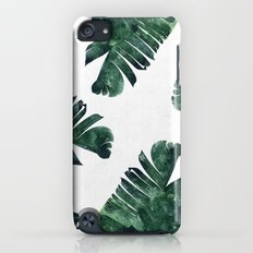 Banana Leaf Watercolor Pattern #society6 Slim Case iPod touch