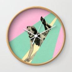 Slide Wall Clock