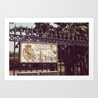 Plaza D'Armas New Orleans French Quarter City Color Photography Art Print