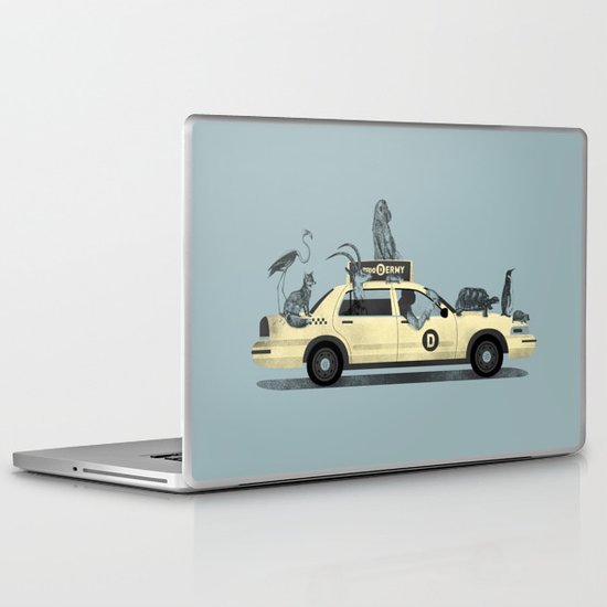 1-800-TAXI-DERMY Laptop & iPad Skin