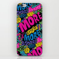 More & More & More iPhone & iPod Skin