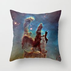 Pillars Of Creation Nebu… Throw Pillow