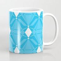 Abstract [BLUE] Emeralds Mug