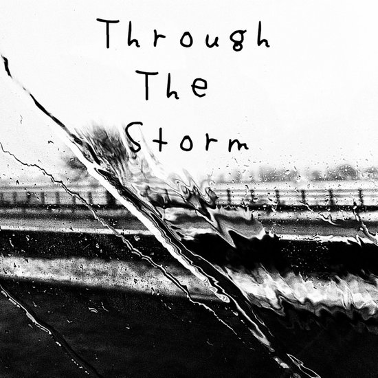 Though the storm Art Print