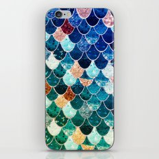 REALLY MERMAID TIFFANY iPhone & iPod Skin