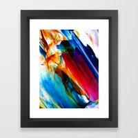 criticality Framed Art Print