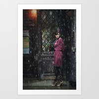 Snowscape II Art Print